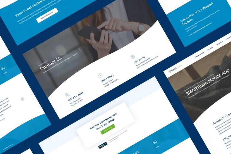 SMARTcare Software - B2B WordPress Website Design