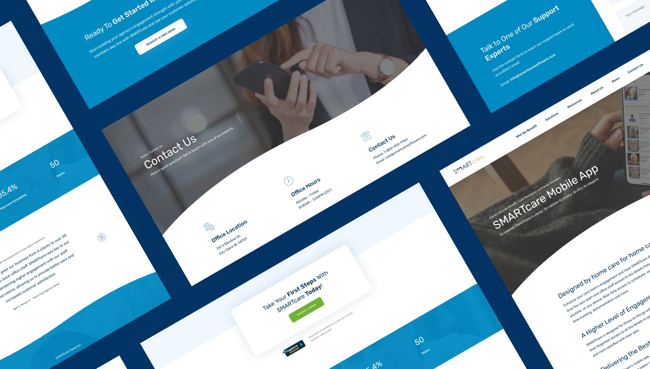 Professionally Designed B2B WordPress Website - George Ilidis - Web Designer