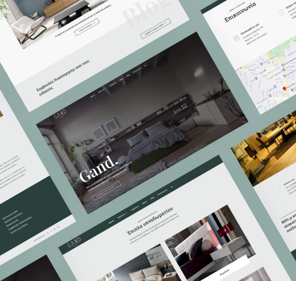 Custom Website Design & Development - Gand Furniture