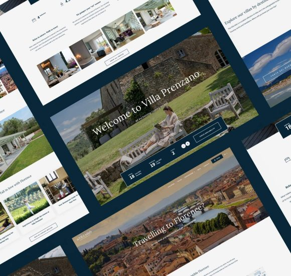 Custom Website Design & Development - The Villa Italy